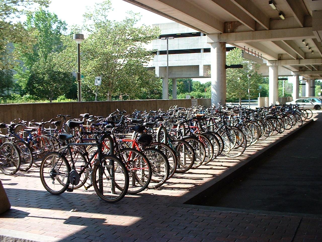 Parking vélo avec arceaux